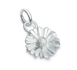 Silver Daisy Charm