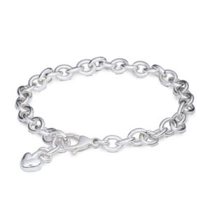 Silver Mini Lifetime Charm Bracelet