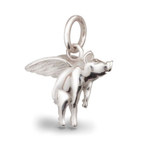 silver pigs might fly charm
