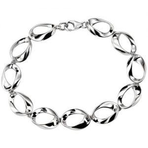 Silver Eclipse Bracelet
