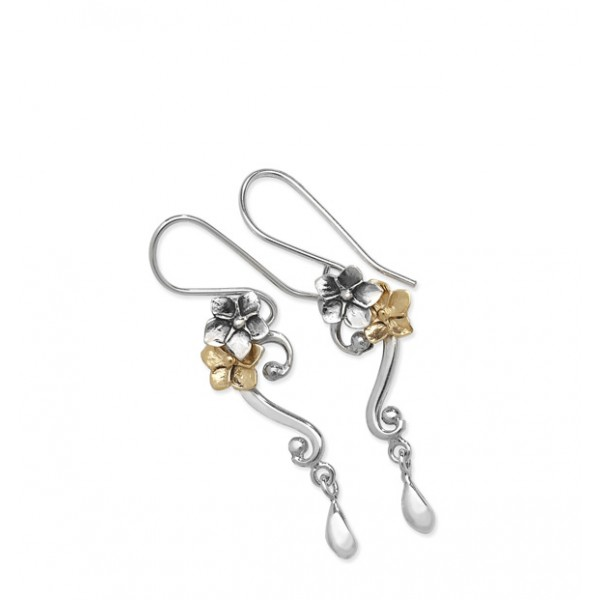 silver forget me not earrings equinox silver jewellery