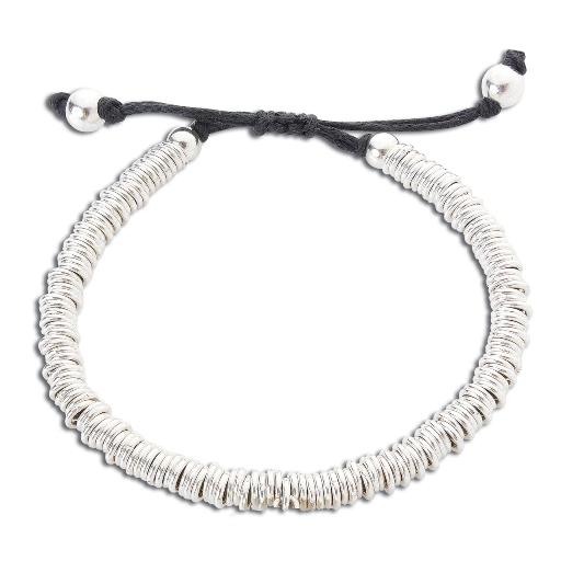 c0e882623 Silver Sweetie Friendship Bracelet-Handmade-Equinox