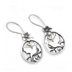 Starry night drop earrings