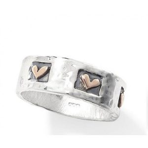 Silver With Love Ring