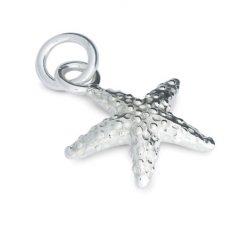 Silver Starfish Charm