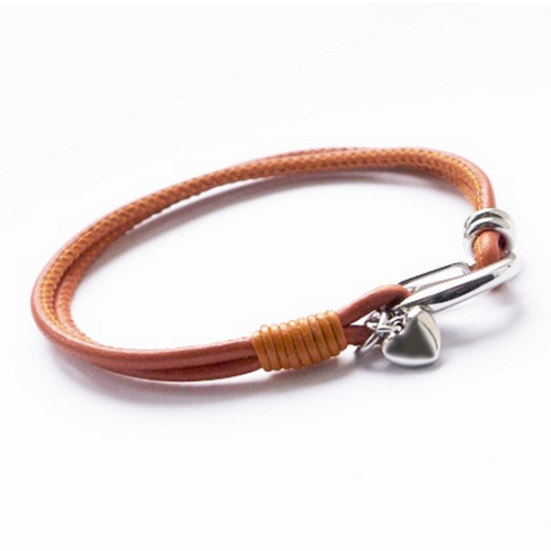 Womens Coloured Leather Bracelet-Equinox Jewellery 5c0fa9f2c5