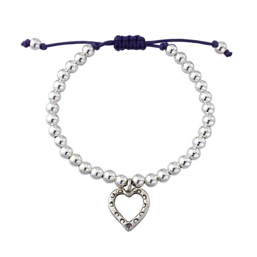 silver friendship charm bracelet handmade equinox silver
