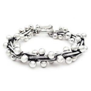 silver Peppercorn bracelet