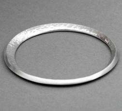 Silver Embrace Bangle