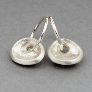 Silver Embrace Earrings