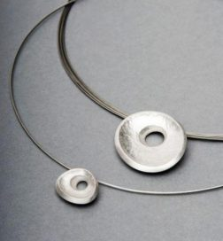 Silver Embrace Necklace