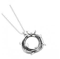Silver Entwined Pendant