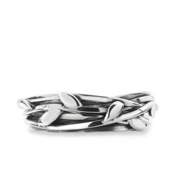 Silver Entwined Ring