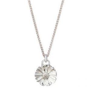 Silver Daisy Pendant