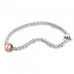 Silver And Gold Que Sera Bracelet