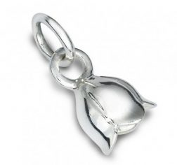 Silver Lily Charm
