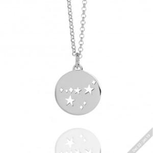 Silver Capricorn Necklace
