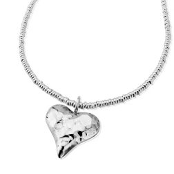 Silver Amore Necklace