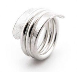 Silver Revolution Ring