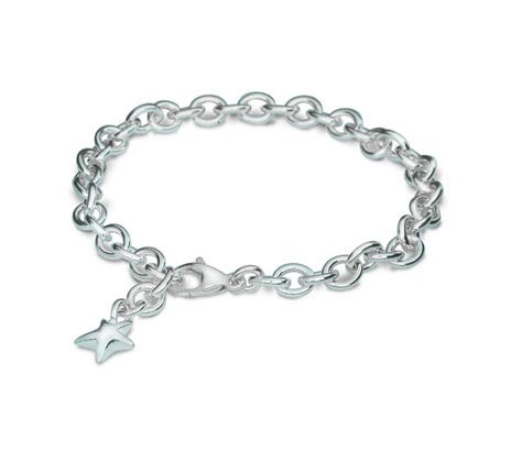 Silver Mini Lifetime Star Charm Bracelet