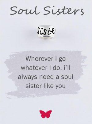 Silver Soul Sister Mojo Charmbead