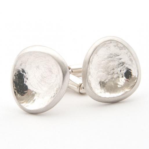 Silver Rockpool Cufflinks