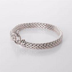 Silver Panther Bracelet
