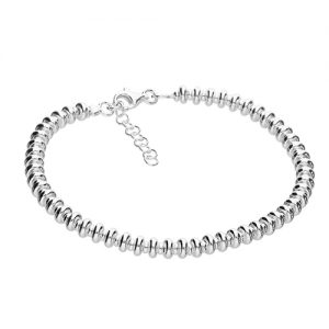 Silver Bolder Bracelet