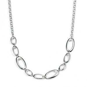 Sterling Silver Eternal Necklace