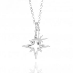 Silver Hope Star Necklace